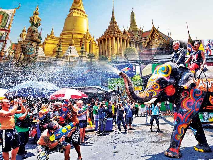 Thailand Songkran Water Festival Tour Package 2017