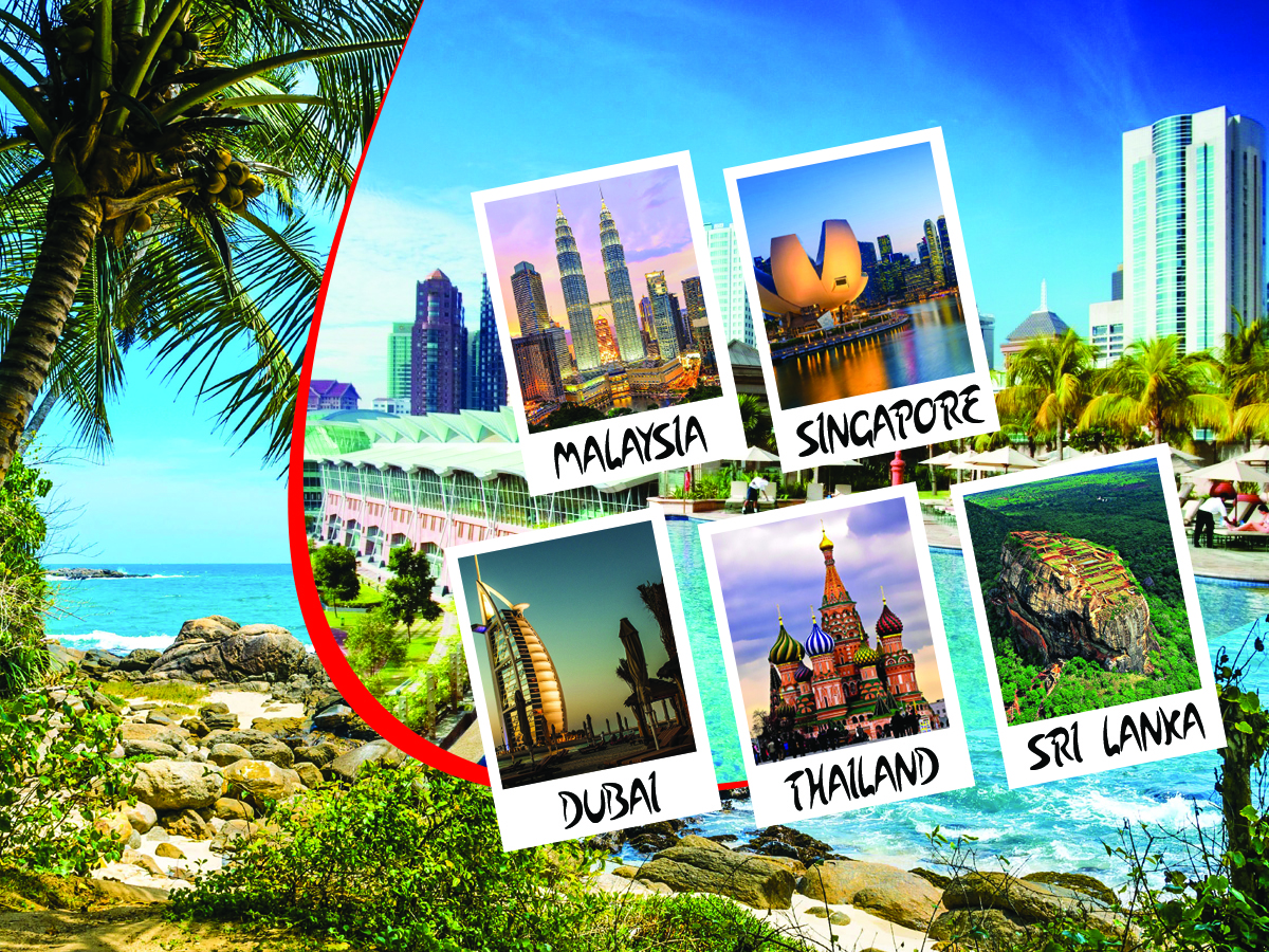 Five Countries Summer Travel and Tour Holiday  Premio